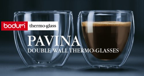 V60 Coffee BODUM / PAVINA glass d...